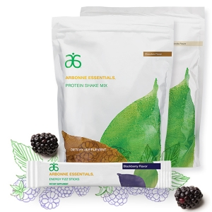 we sell arbonne essentials dietary supplement which includes organic protein shake mix and all different flavors